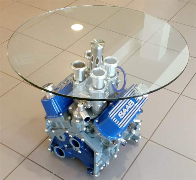 Saab V4 Engine Table