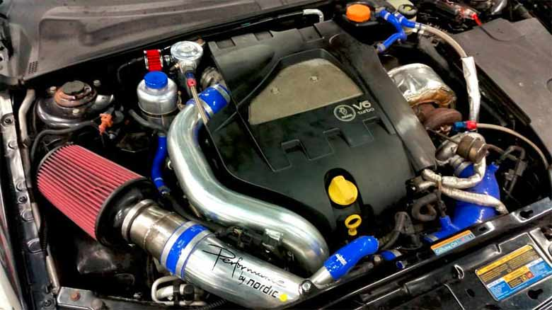 Saab V6 engine by Nordic Tuning Dalarna