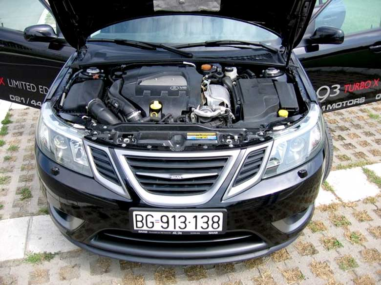 Saab V6 engine by Holden
