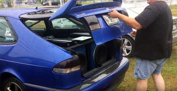 Saab 9-3 Viggen Car Audio