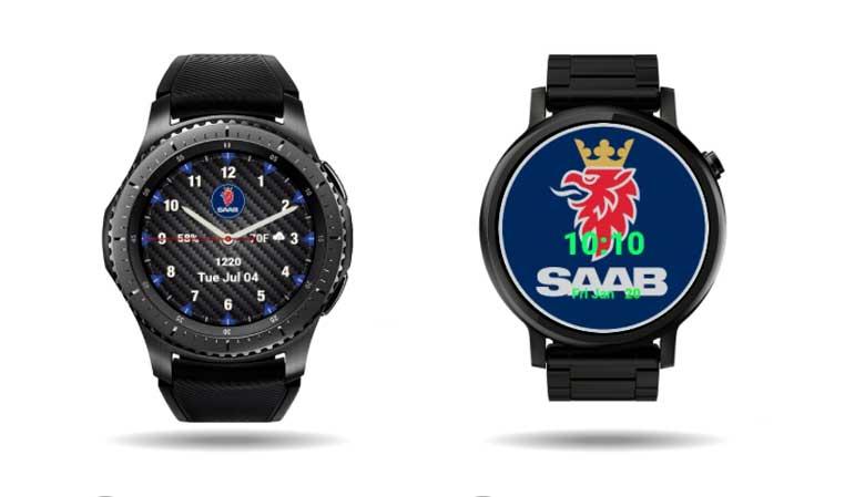 Facer Saab Watchfaces