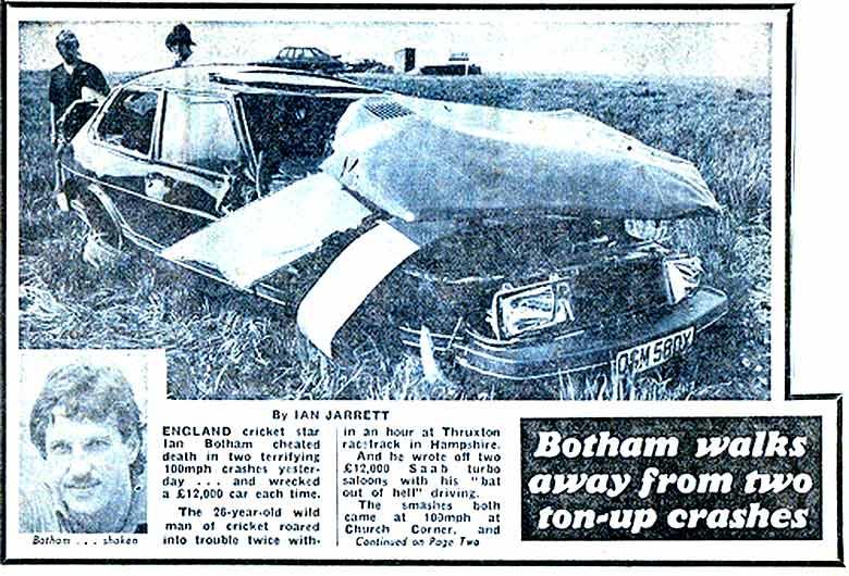 Saab accident