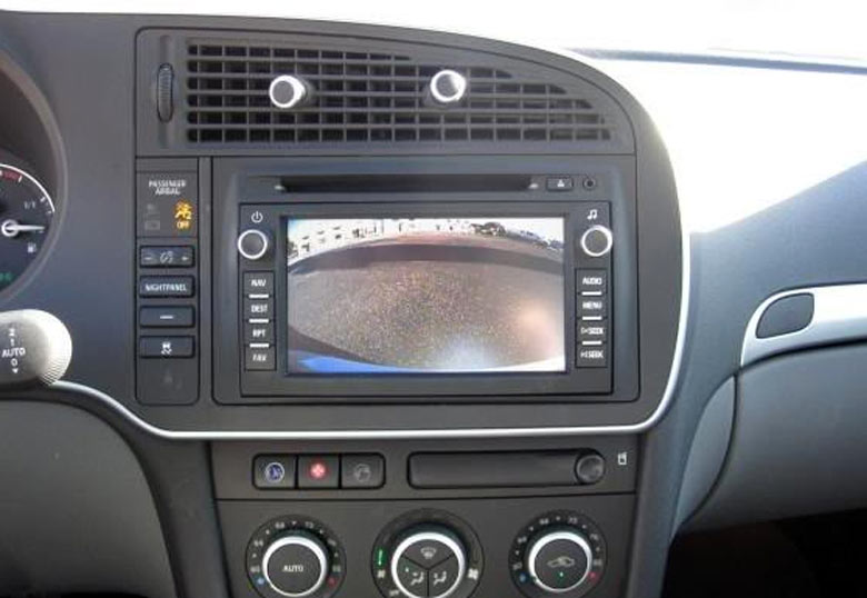 Saab backup camera