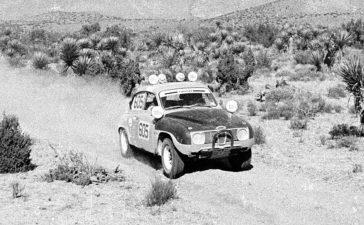 the off-road SAAB