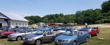 Saab cabrio festival