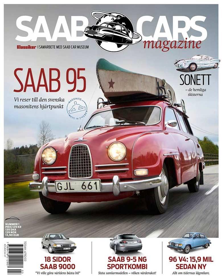 Saab cars magazine by Klassiker