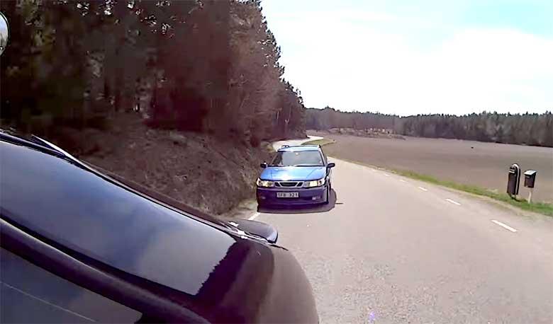 Saab chasing Saab