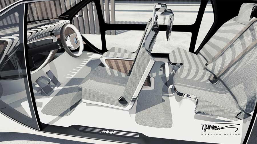 Saab concept by warming design