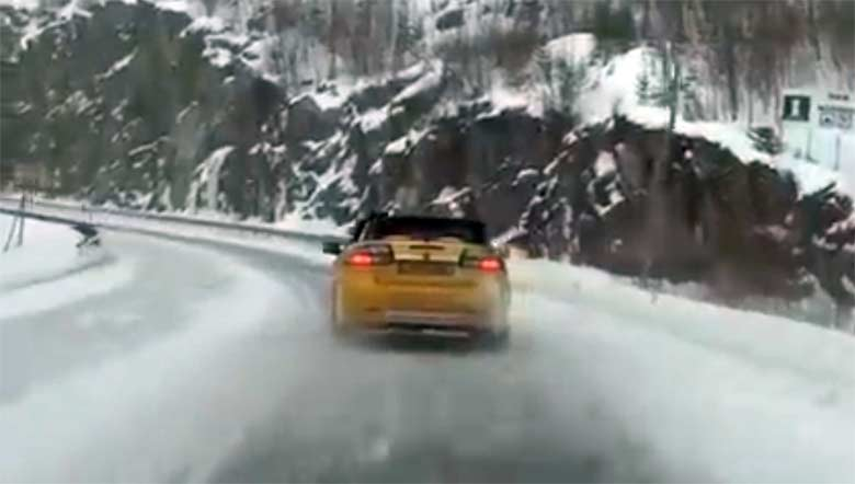 Saab convertible challenge