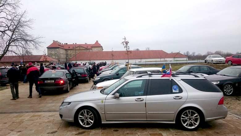 Saab convoy 2018