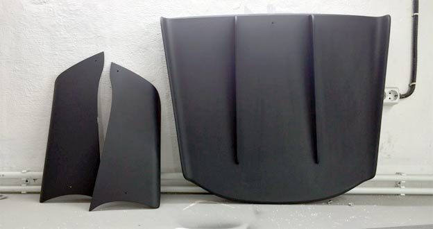 Saab custom Splitters and Rear Diffuser