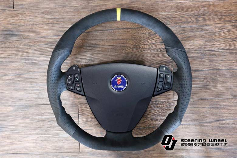 Saab custom Steering wheel