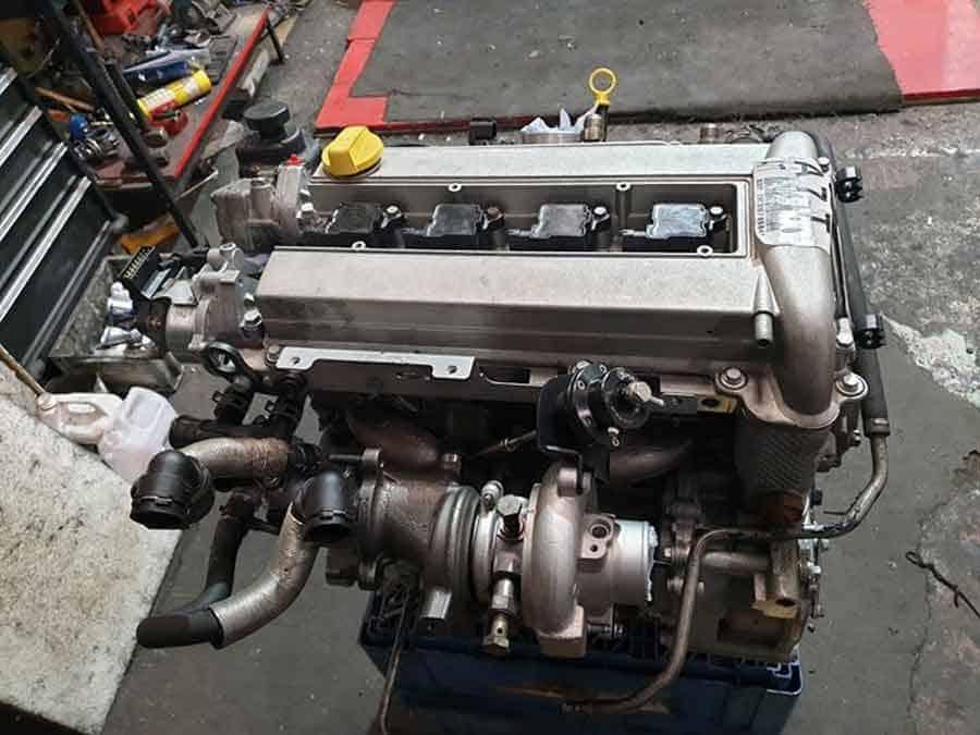 Saab engine A7T