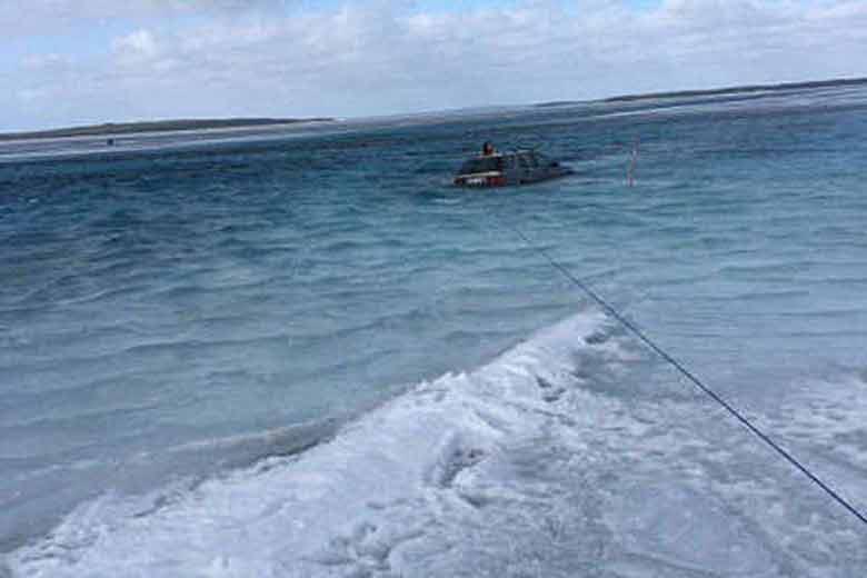 Saab rescue operation