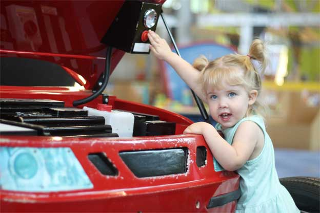 Saab Repair Shop for Kids