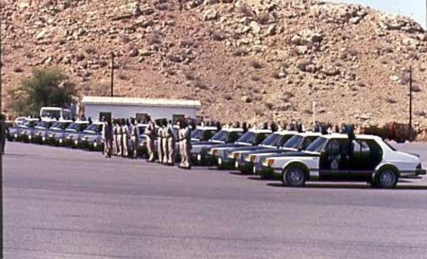 Saab 900 fleet for Oman Police