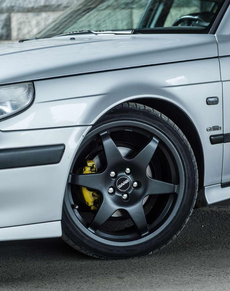 Saab Hirsch Performance wheels