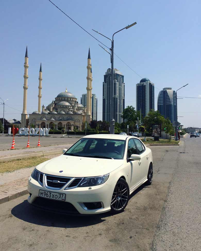 Saab in Grozny