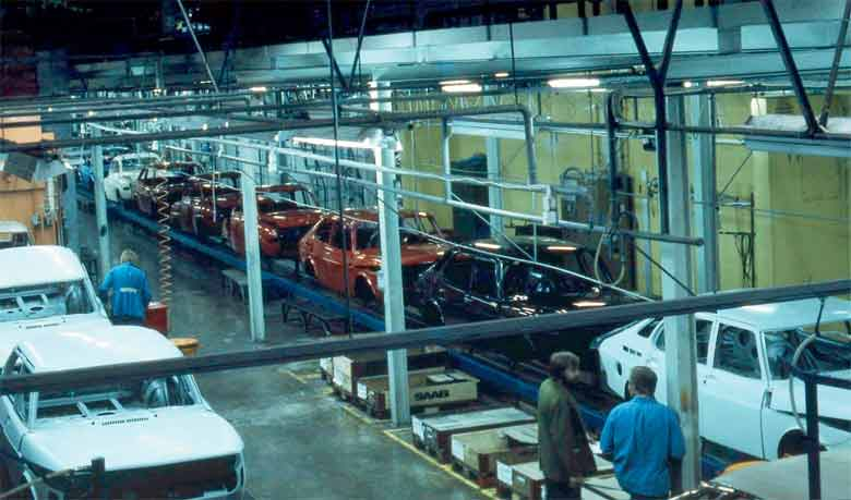 Saab in Valmet Automotive