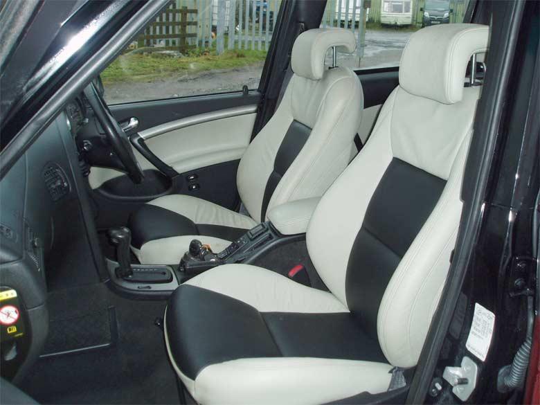 Saab Hearse interior