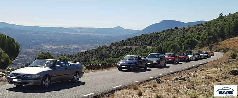 Saab meeting in Spain