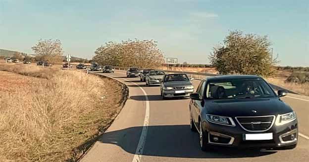 Saab car fans meeting