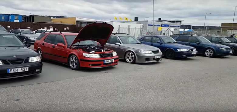 Saab meetup - Elmia 2017