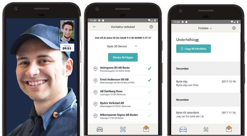 The MySaabCar app has arrived!
