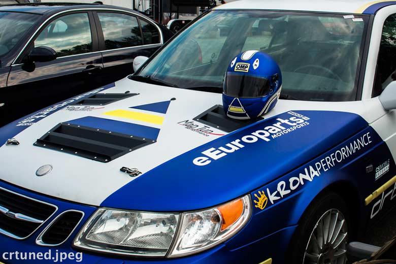Saab motorsport in Canada