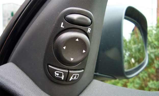 passenger mirror for reverse