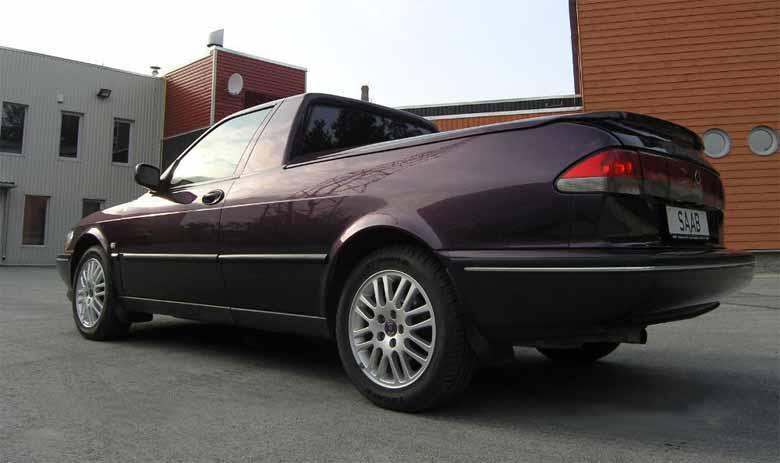 Saab pickup