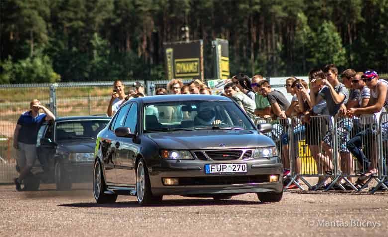 Saab racing