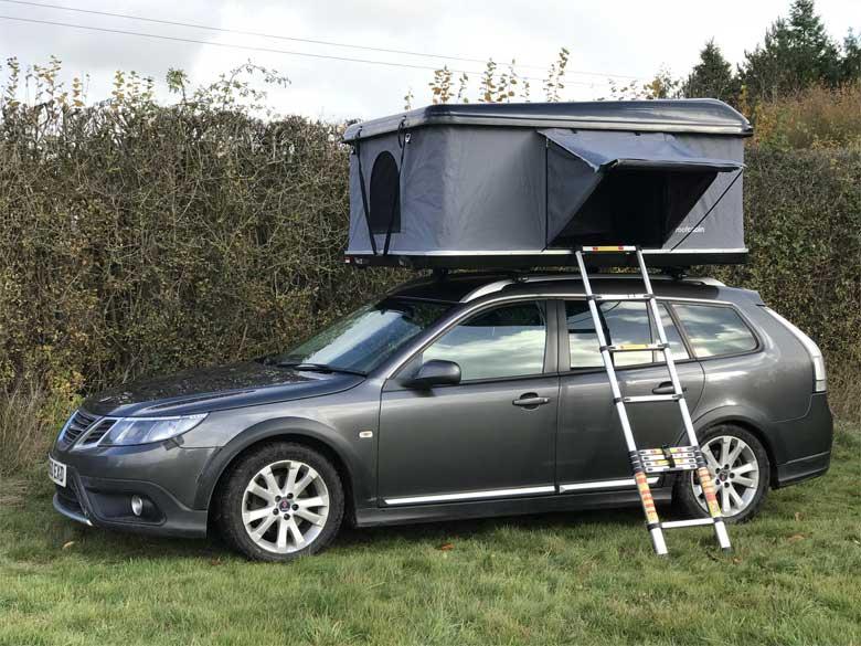 Saab roofcabin motorhome