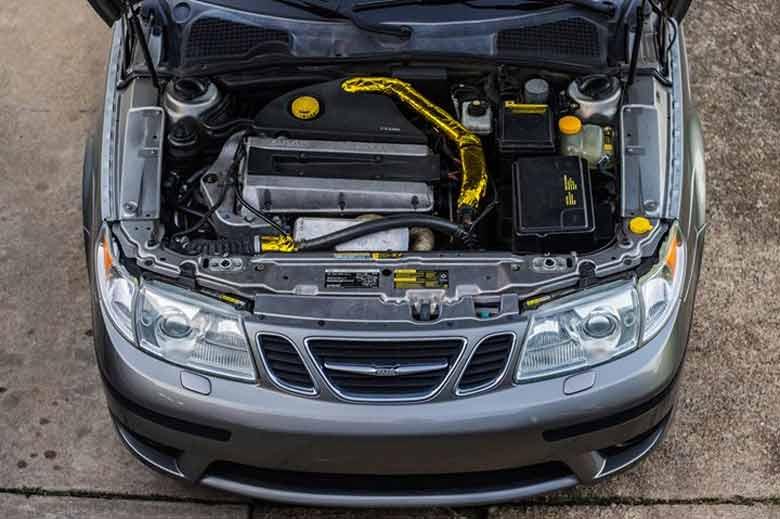 Superfast Saab 9-5 Aero - ,000 for a 600hp car