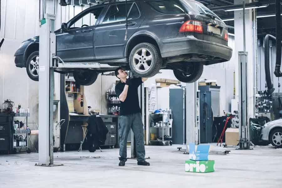Gross margins on Saab Original parts are on continued good levels