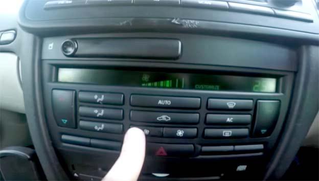 Saab Siezed Heater Motor Quick Fix