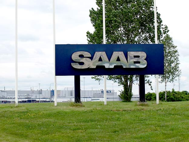 Saab sign in Stallbacka