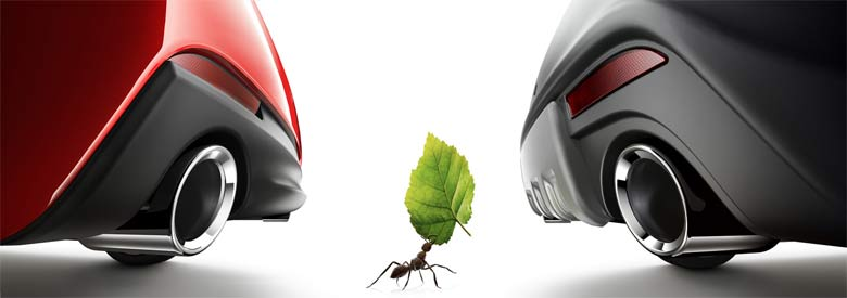 Ant and leaf created by John Andersson at Hungry Hippo Productions. Cars created in association with MFX Göteborg.
