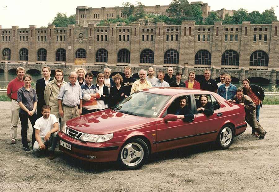 Saab Team, July 1997