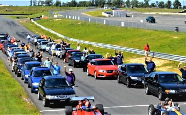 Saab Convention Track Day 2021