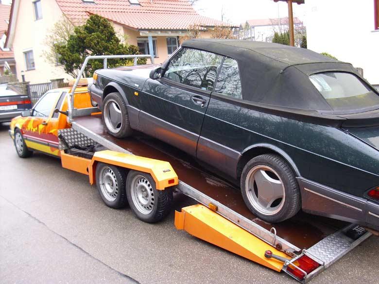 Saab trailer