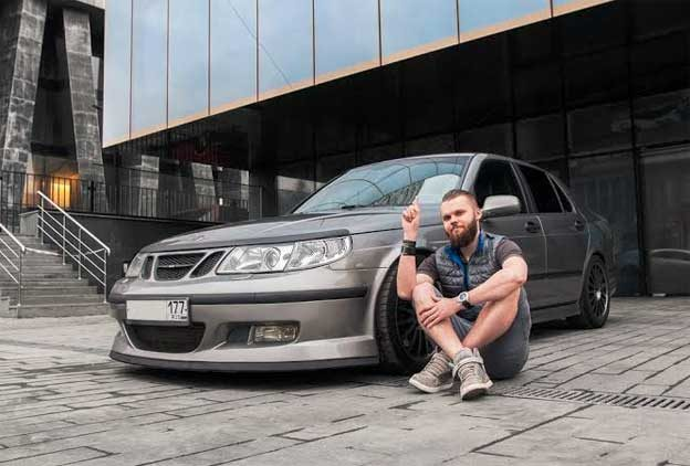 Saab Troll from Moscow