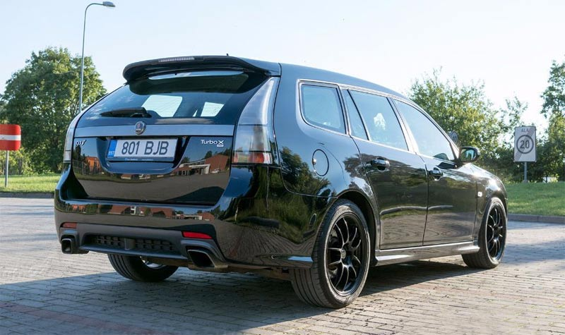 Awesome Hobby car: Saab 9-3 Turbo X SC Hirsch Performance/Vermont Tuning 400hp/600nm 1