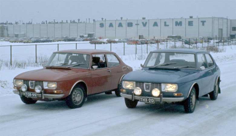 Saab 99 from Valmet Automotive