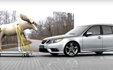 Saab vs Moose Test