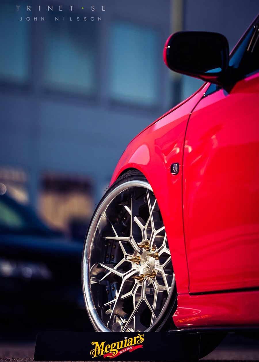 Custom Saab wheels