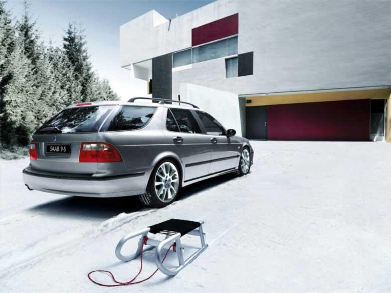 Saab winter tires
