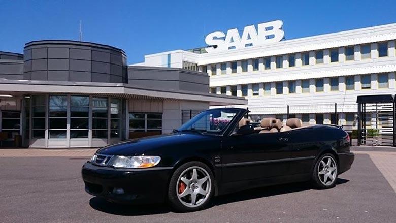 Saab with Hirsch wheels