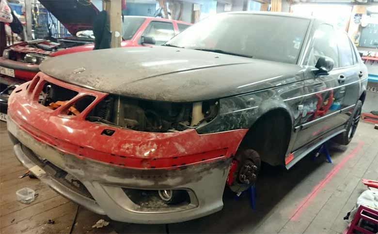 Saab work in progress
