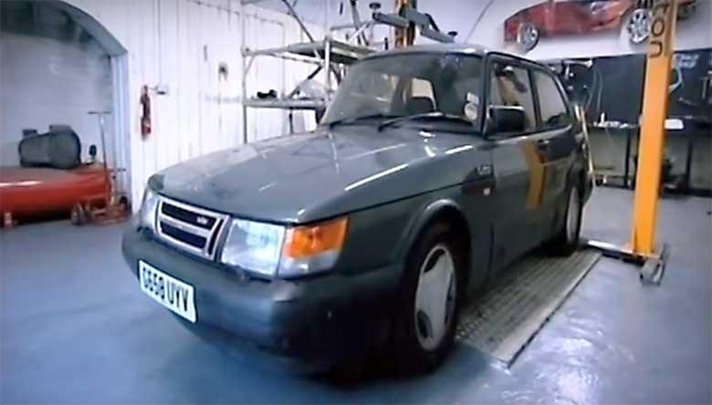 Sacrilegious?: The Saab Gangster Car by Chop Shop